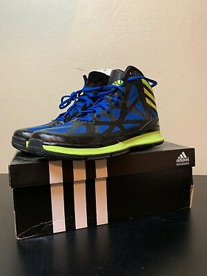 best website 2fe7f 43dca Nib Adidas Crazy Shadow 2 Blue Mens Size 8