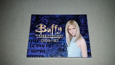 Buffy the Vampire Slayer Chess Set Complete 2000