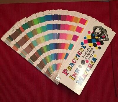 Practical Ink Matcher, Color & Matching System, Handschy, Cross Reference P.I.M.