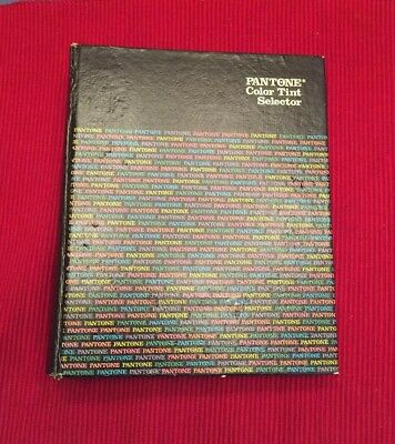 The PANTONE Library of Color - Pantone Color Tint Selector, 1980, Used, Printing