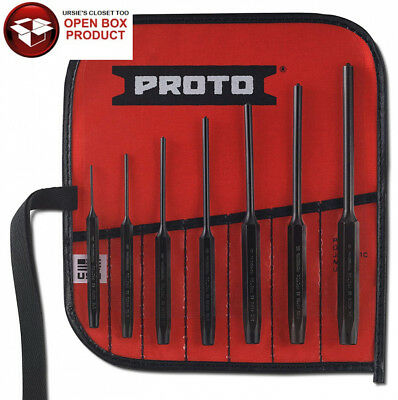 Stanley Proto J49007S2 Roll Pin Punch Set, 7-Piece