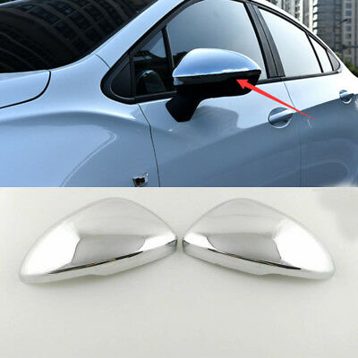 2pc  ABS Chrome Side Rear View Mirror Trim Cover For Chevrolet Cruze 2017-2018