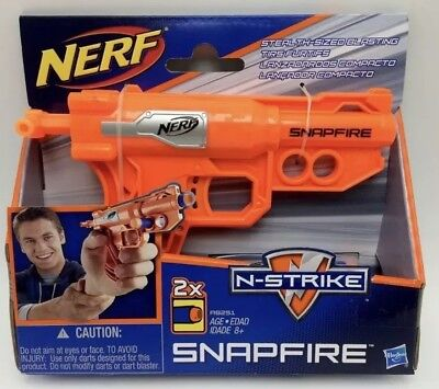 2 pack Nerf N-Strike SnapFire Soft Dart Gun Toy NEW GET TWO With This DEAL!!
