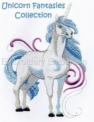 Unicorn Fantasies Collection - Machine Embroidery Designs On Cd