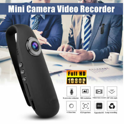HD 1080P Mini Camcorder Dash Cam Body Motorcycle Bike Motion Action DV Camera WY
