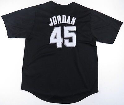 90S Michael Jordan Chicago White Sox Mitchell And Ness Baseball Jersey Vintage