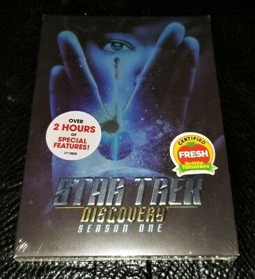 Star Trek - Discovery DVD: The First Season One 1 New Sealed + Special Features