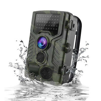 1080P HD Wildlife Trail Hunting Camera with Motion Activated Night Vision 120°