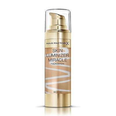 Max Factor Skin Luminizer Miracle Foundation | Beige 55 | Healthy Glow