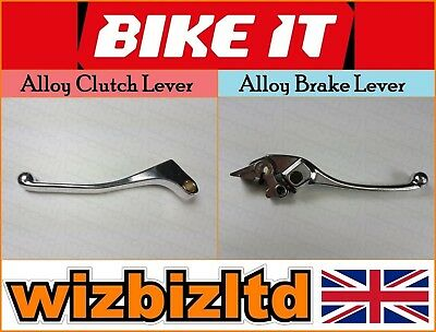 Pair of Standard Long Alloy Clutch & Brake Levers Honda CBR 600 F 1989 LRH01