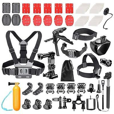 62in1 Sports Action Camera Accessories Kit For GoPro Hero/Session/6 5 4 3+ 3 2 1
