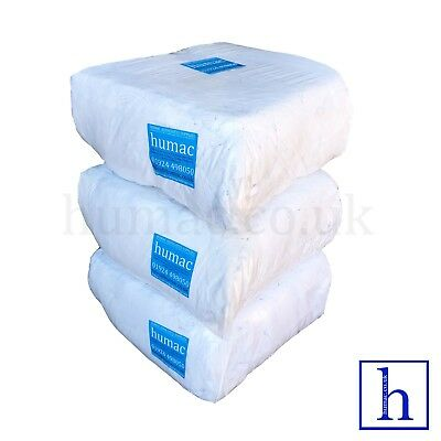 30KG White Sheeting Polishing High Quality Lint Free Wiping Cloth Rags - HUMAC