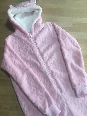 MATALAN Girls All In One Sleep suit - Age 12yrs - Pre Owned