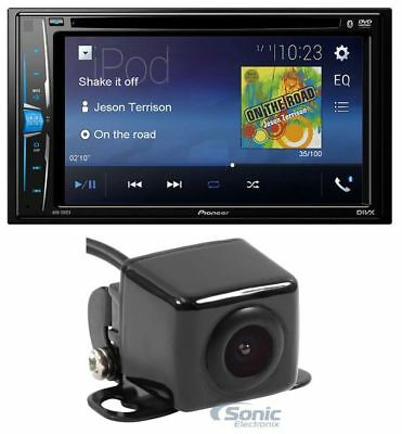"""Pioneer AVH-210EX 6.2"""" Double DIN Bluetooth Stereo Car In-Dash Receiver + Camera"""
