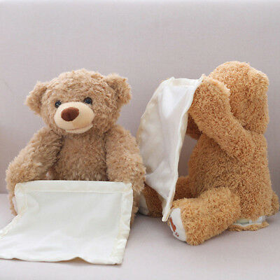 Peek A Boo Teddy Bear Toddler Kids Children Child Play Soft Toy Plush Blanket UK