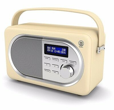 Majority Portable Digital DAB+ / DAB FM Radio, Leather Effect, Alarm