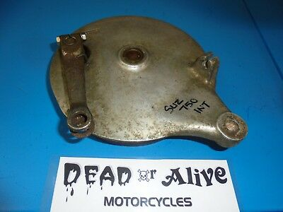 Suzuki Vs 750 Intruder,  Rear Brake Drum Plate