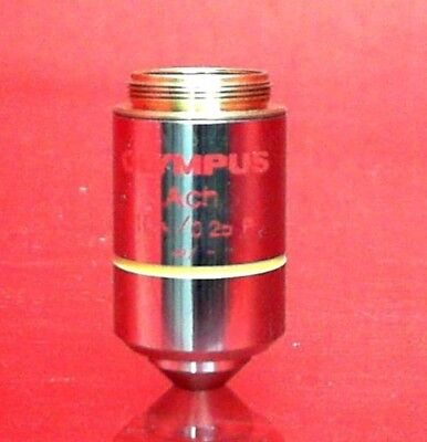 Olympus Ach 10x / 0.25P Ach 10x / 0.25P Microscope Objective AT415533196
