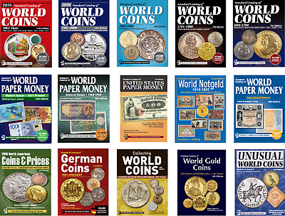 NEW 2019 Standard catalogues of World Coins 1601-Date & Paper money | PDF format