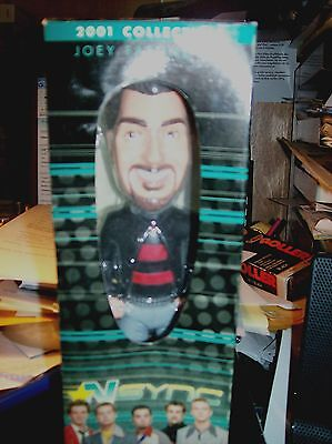 Vintage 2001 N SYNC Best Buy Collector Bobblehead JOEY FATONE, Jr. in box