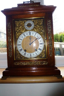 Antique LENZKIRCH TING TANG Series 56 1 Million Bracket Clock: WORKING