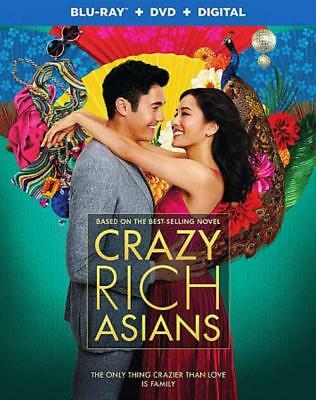 Crazy Rich Asians New Blu-Ray/dvd