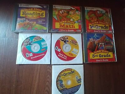 JUMP START 4TH GRADE ADVENTURES User's Guide Deluxe 2 CD Set