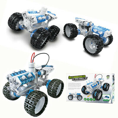 SALT WATER FUEL Cell 4WD Car Kids Educational DIY Off-Road Monster Toy  Truck Kit