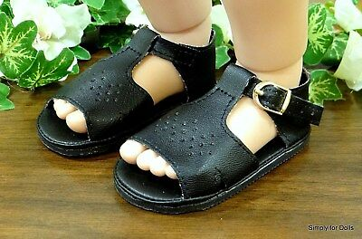 "MY TWINN Yellow Diamond pattern DOLL SANDALS Shoes fits 23/"" POSEABLE DOLL"