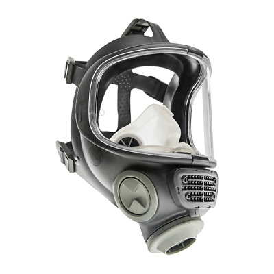 New Scott M120 CBRN 40mm NATO NBC Gas Mask, Size: SMALL #013014