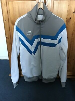 Adidas Tracksuit Top Jacket Vintage Retro Large 1990s
