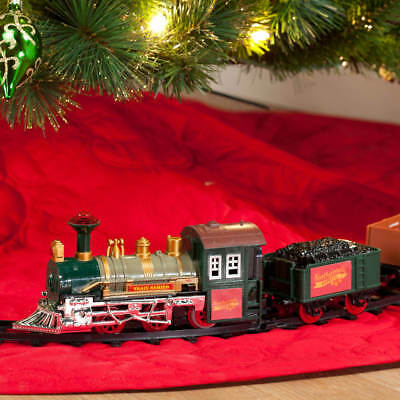12 Piece Nostalgic Holiday Traditional Around the Christmas Tree Train Set