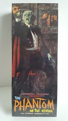 Phantom Of The Opera Cinemodels 1994 Reissue Model Kit Aurora Long Box (Sealed)