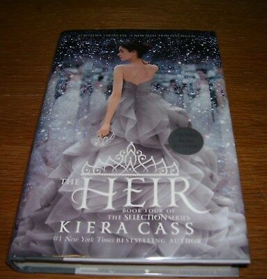 The Heir 1st Edition Signed Hardcover by Kiera Cass