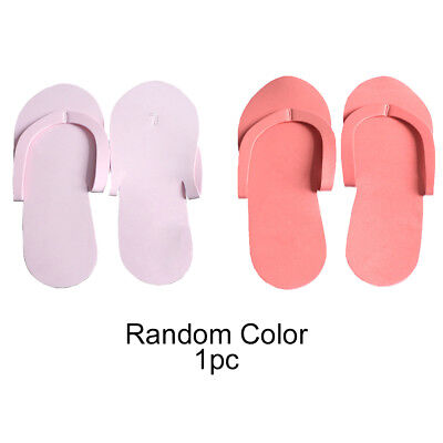 36 Pairs Disposable Foam Pedicure Spa Flip Flop Slippers Random Colors Nail