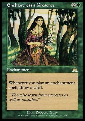 Enchantress's Presence ~ Onslaught ~ Excellent ~ Magic The Gathering