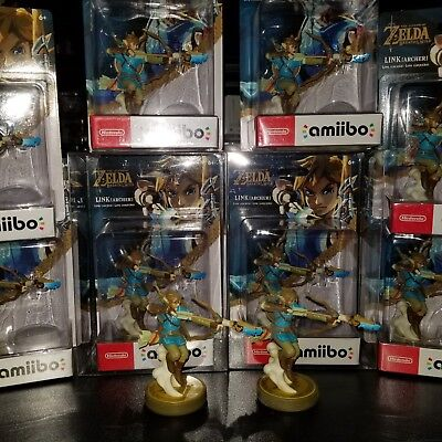 Link Archer Amiibo The Legend of Zelda Series Breath Wild US Version