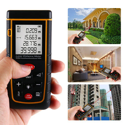 40M Portable Digital Laser Distance Meter Range Finder Measure Diastimeter