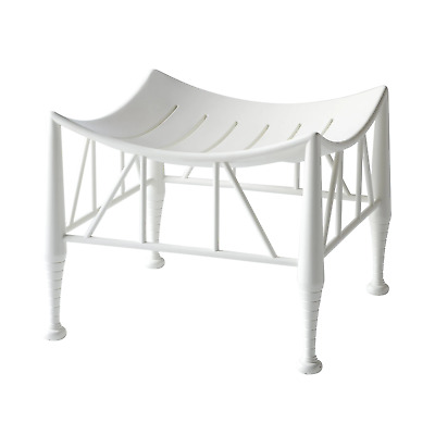 White Lacquered Thebes Stools