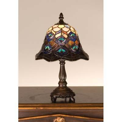 Meyda Tiffany 30317 Tiffany Glass Stained Glass / Tiffany Accent Table Lamp
