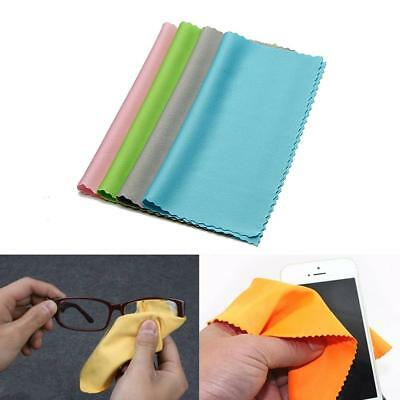 10Pcs Square Microfiber Eyeglass Cleaning Cloth Phone Screen Camera Lens Cleaner