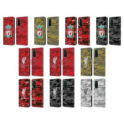 Official Liverpool Football Club Camou Pu Leather Book Case For Huawei Phones