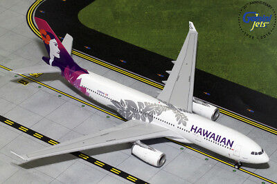 IN STOCK Hawaiian Airlines A330-200 GeminiJets 1:200 Diecast Models G2HAL751