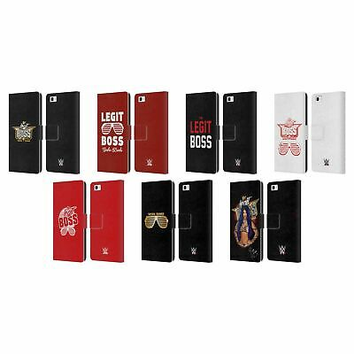 Official Wwe Sasha Banks Leather Book Wallet Case Cover For Huawei Phones 2