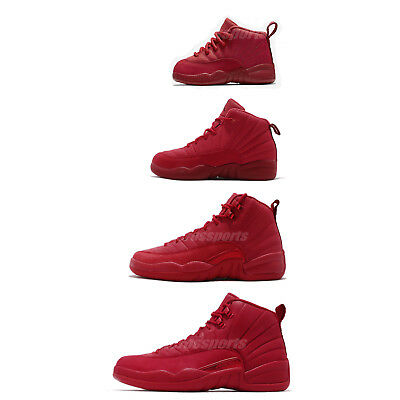 d3c408b1932 Nike Air Jordan 12 Retro Gym Red XII AJ12 Bulls Toro Men Women Kids PS TD