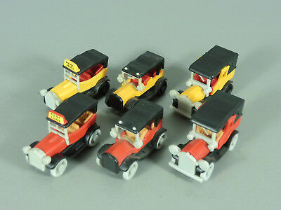 Coches: Antiguo 1990 - Set Completo + Todas 3 Variantes