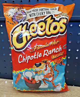 1 x Cheetos Flamin Hot CHIPOTLE RANCH Crunchy 240.9g - USA