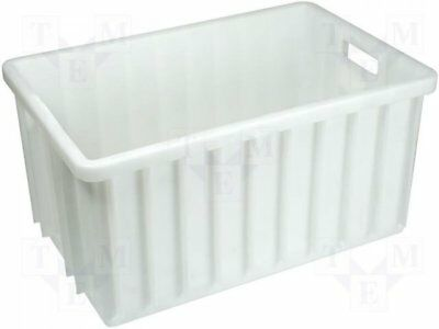 A.PT50 - 1pcs Container: transportation; 600x400x300mm; natural white; 50l