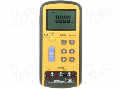 AX-C800 - 1pcs Voltage calibrator, current calibrator; Current source:0÷24mA
