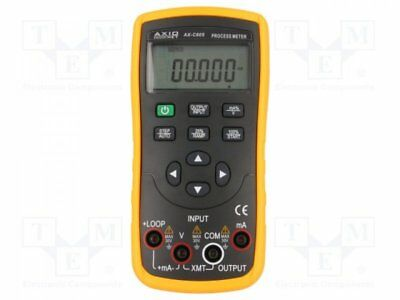 AX-C605 - 1pcs Loop calibrator; V DC:0÷28V; I DC:0÷22mA; Current source:0÷...